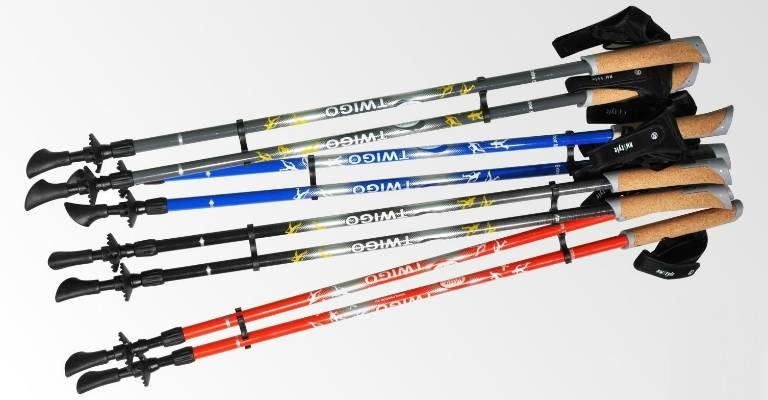 Палки для скандинавской ходьбы, телескопические или фиксированные