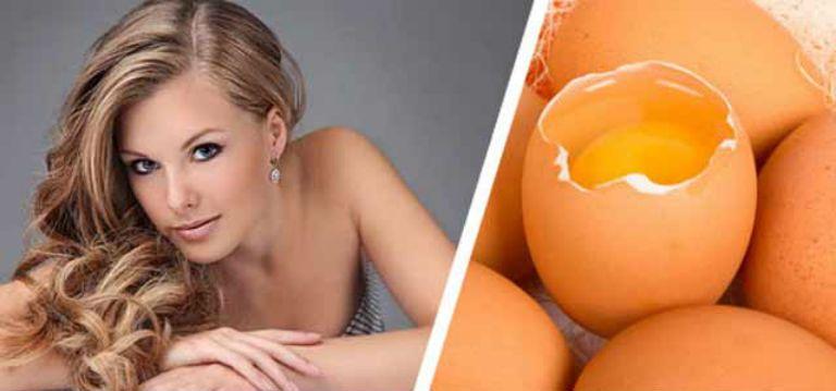 Маска для волос с яйцом в домашних условиях