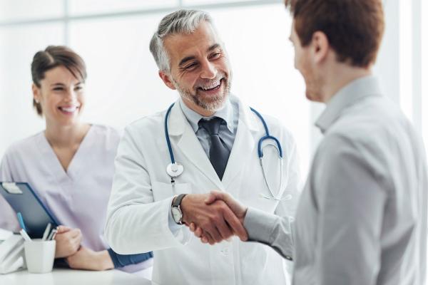 Пациент благодарен доктору