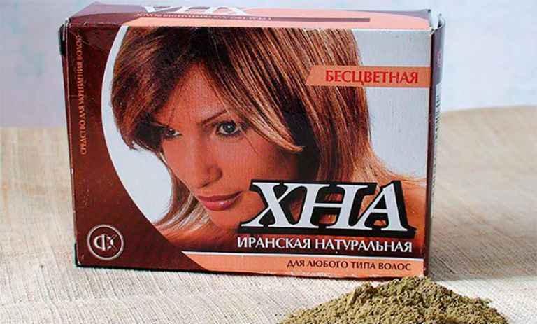 Маска для волос из хны в домашних условиях