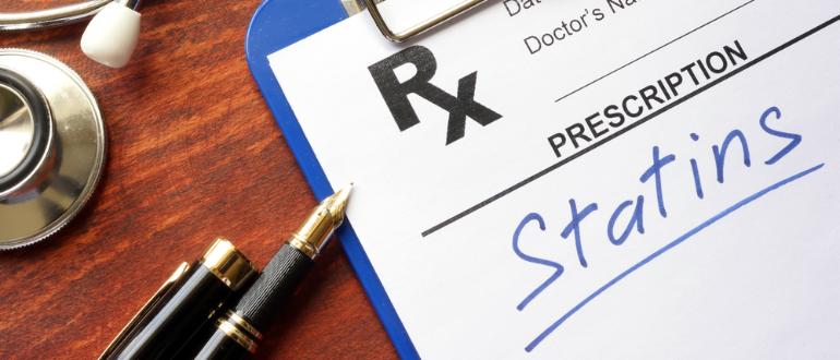 Ранняя отмена статинов и инсульт