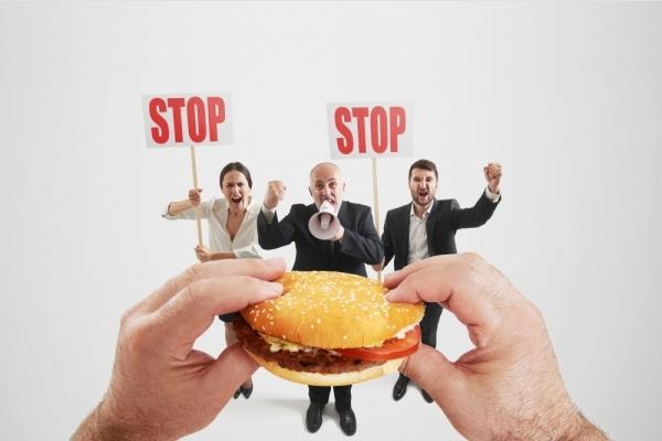Вредная еда при баланите