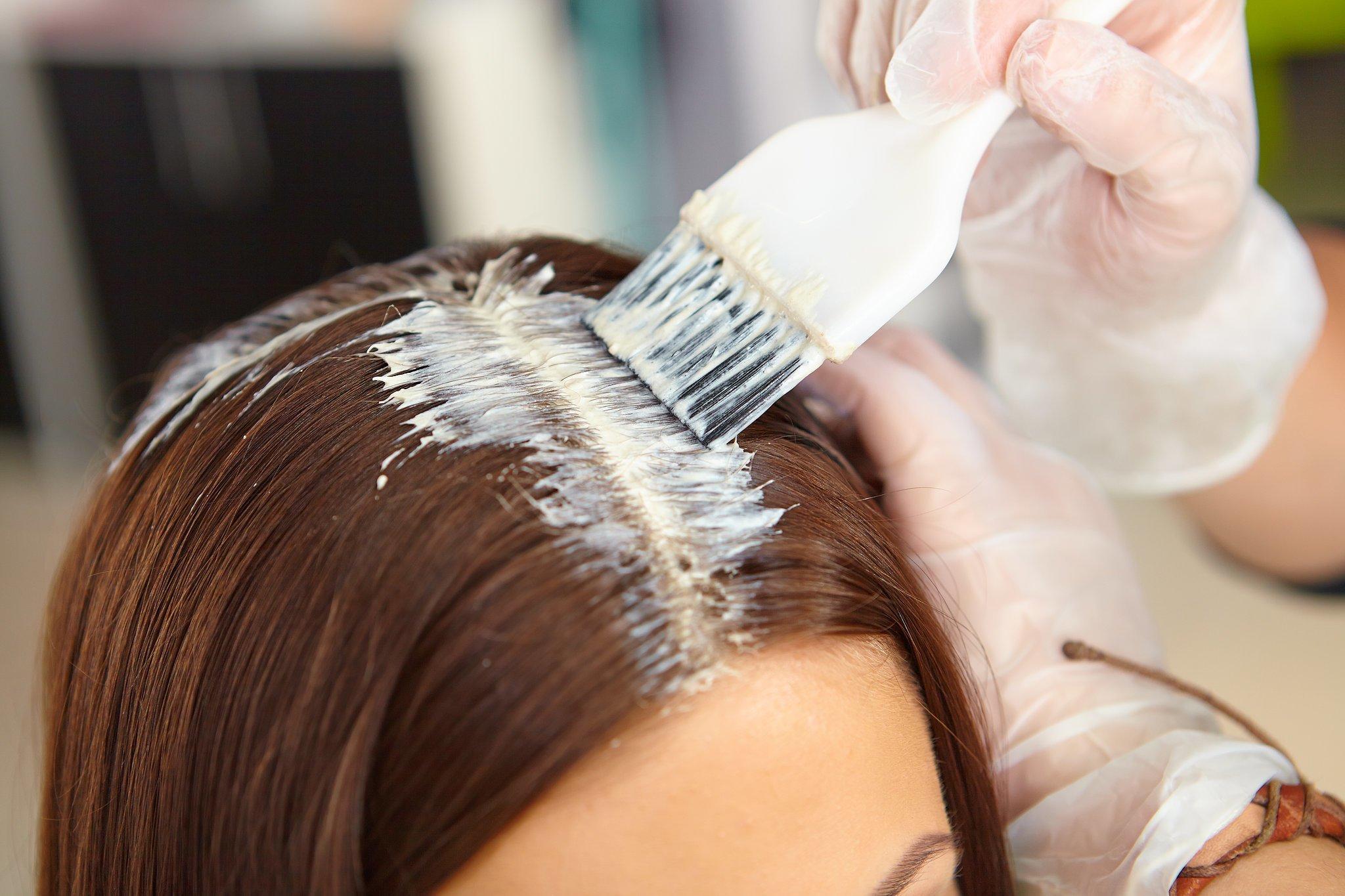 Кефирная маска для волос с маслом чайного дерева
