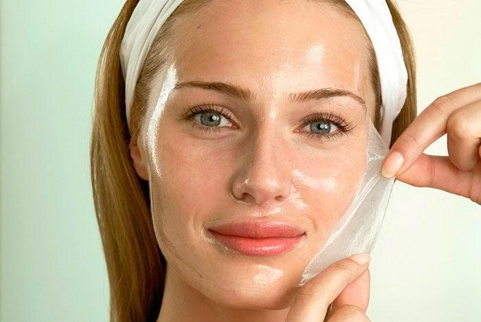 Как правильно снять желатиновую маску