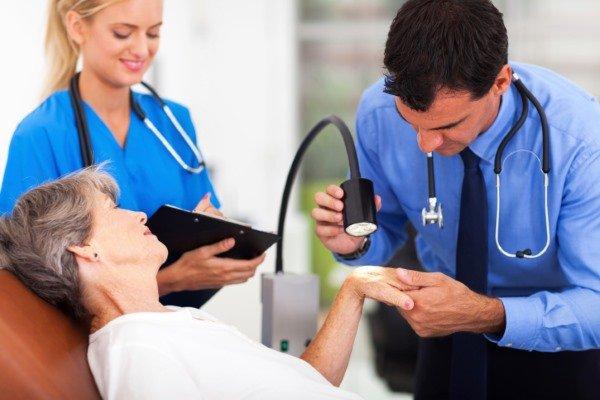 Диагностика эксфолиативного дерматита
