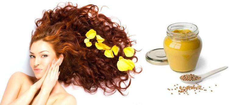 Маска для волос с горчицей в домашних условиях