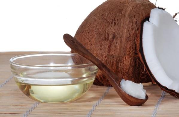 Кокосово-касторовая маска для волос