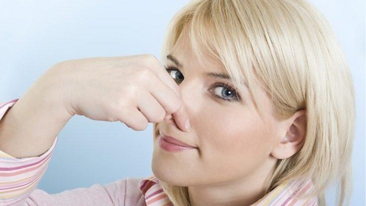 запах в носу при гайморите