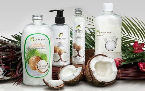 Описание кокосового масла Тропикана