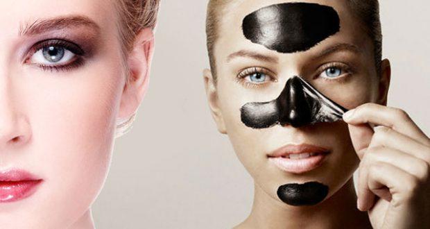 Классическая маска из желатина и угля
