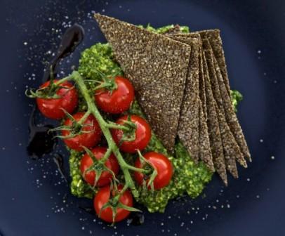 Крекеры из семян Чиа