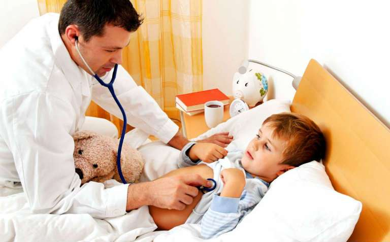 Симптомы бронхита у детей