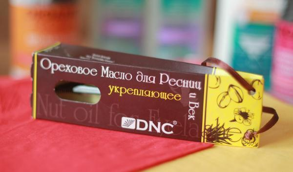 Укрепляющее ореховое масло DNC для век