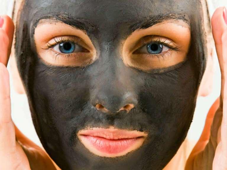 Черная маска для лица от черных точек своими руками