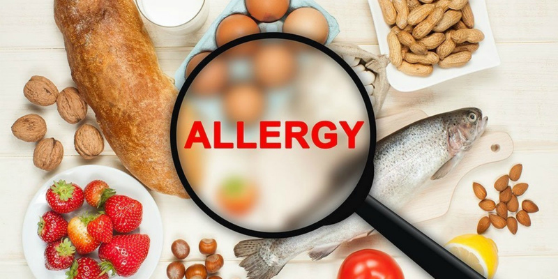 Употребление продуктов которые вызывают алергию