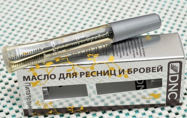Питательное масло для ресниц и бровей DNC