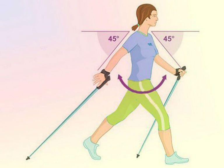 Ходьба с палками скандинавская, как правильно ходить