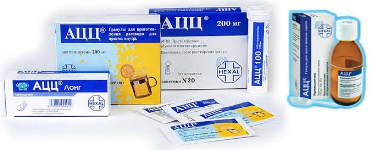 Препараты от кашля для детей и взрослых