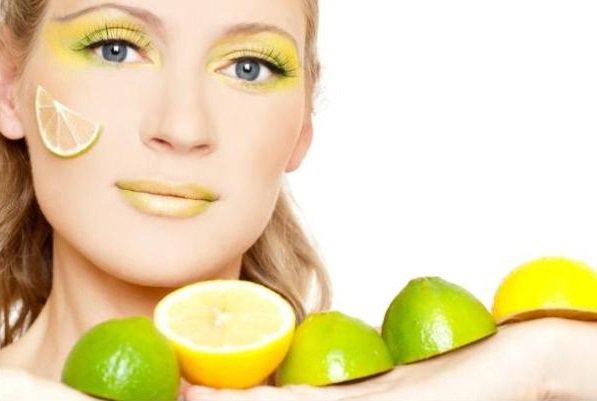 Маска из лимона и корицы с аспирином