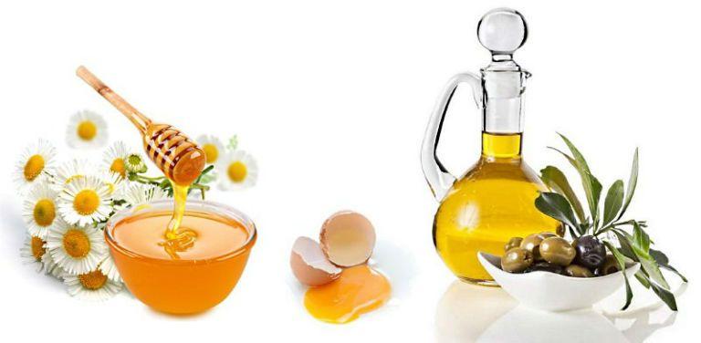 Маска для лица, мед и оливковое масло