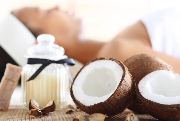 Как делают кокосовое масло Рarachute