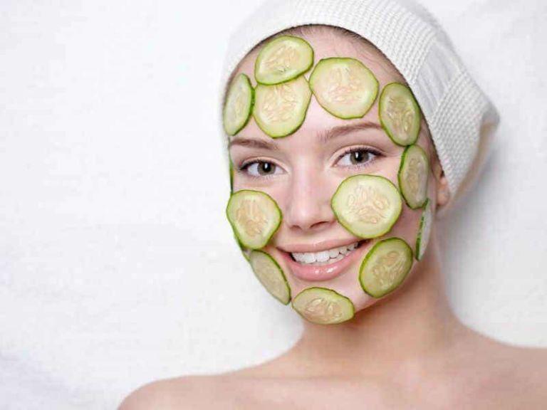 маска из огурцов для лица
