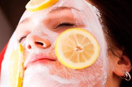 лимонная маска для лица