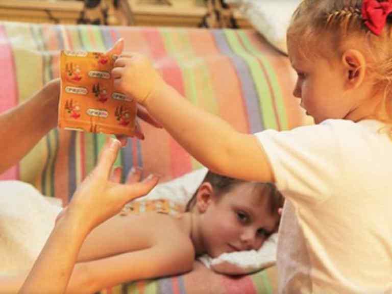 Горчичники при кашле детям, как ставить