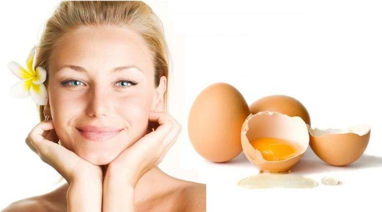 Маска для лица из яйца в домашних условиях