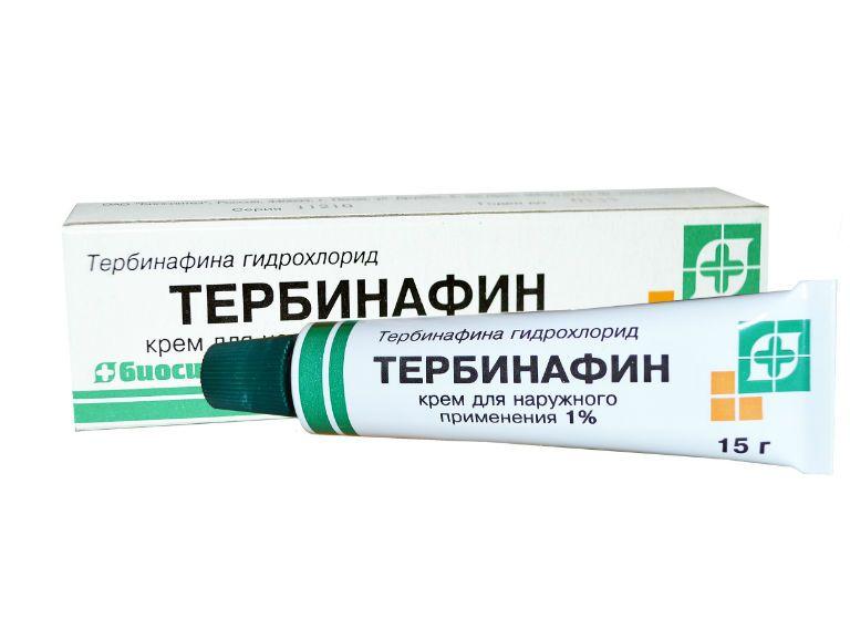 Тербинафин мазь от грибка ногтей