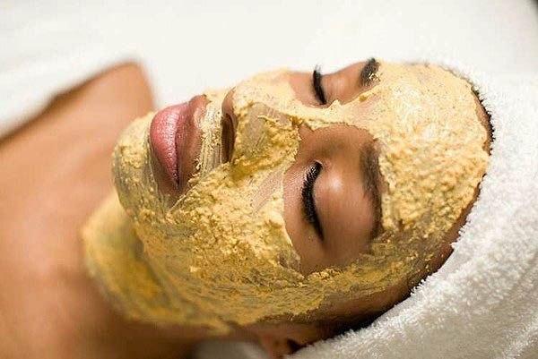 Очищающая маска для лица с овсянкой