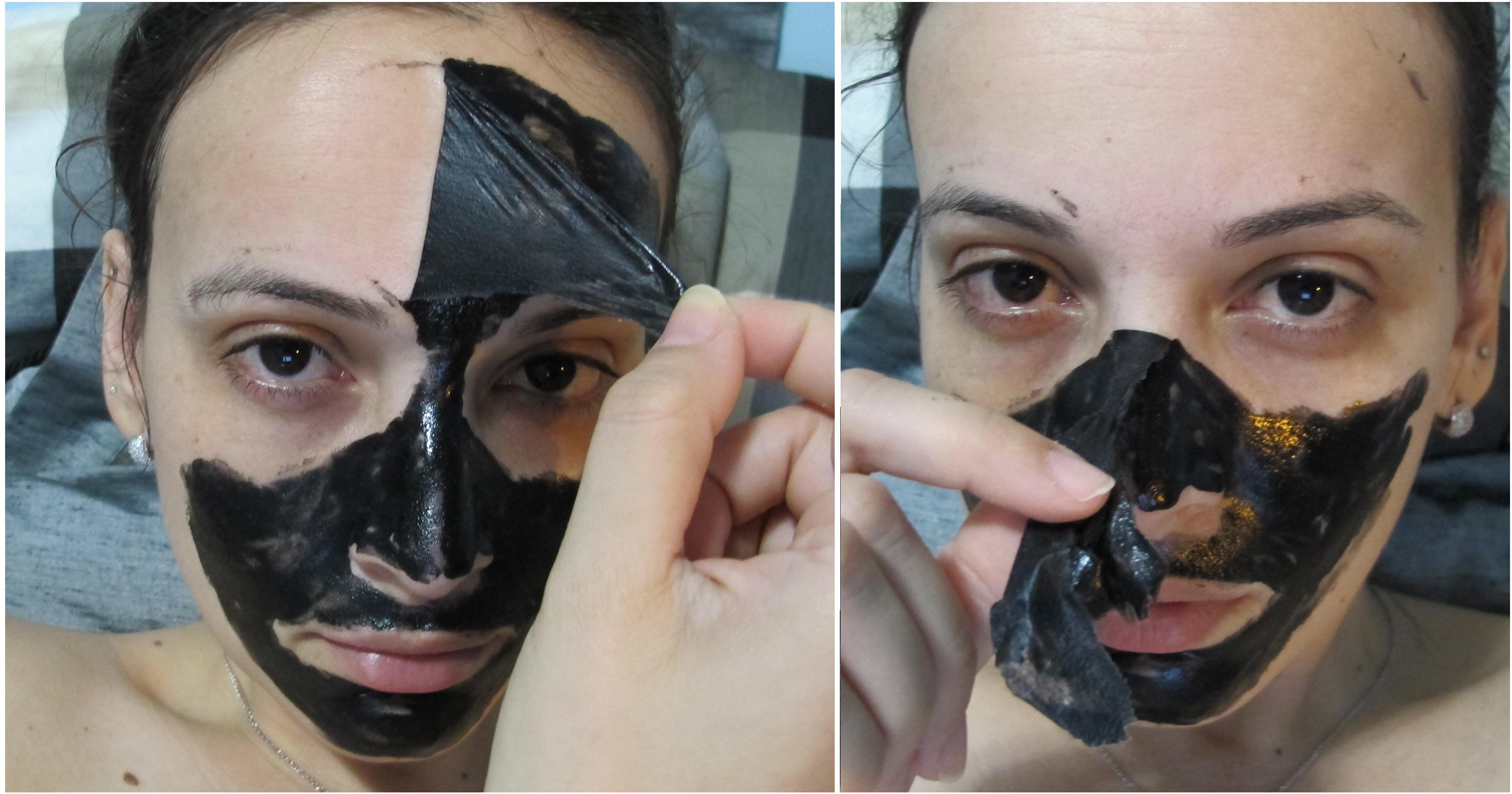 Как снять маску из желатина с лица