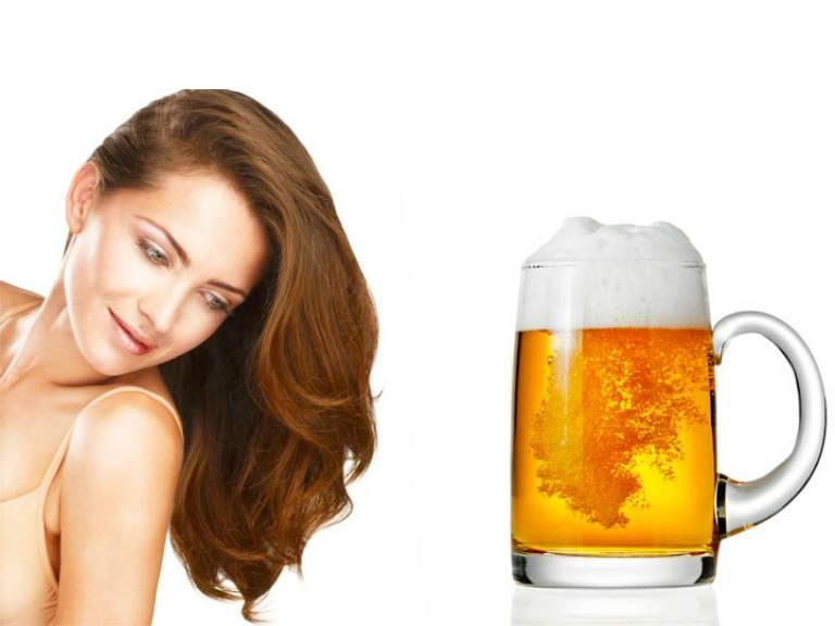 Маска для волос с пивом в домашних условиях