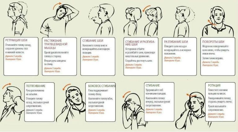 Упражнения при остеохондрозе позвоночника