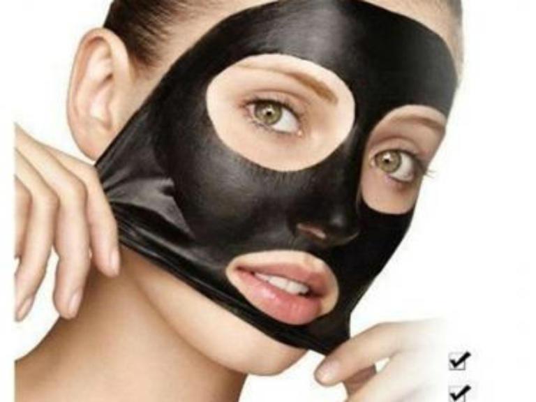 Черная маска для лица в домашних условиях