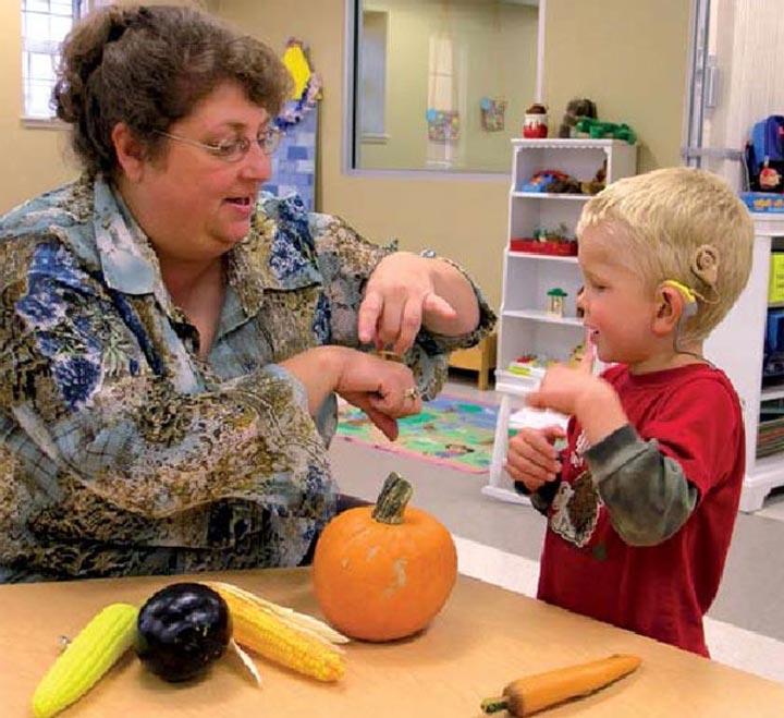 обучение для глухих детей
