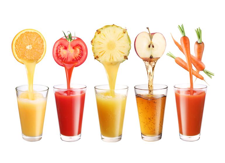 Желатиновая маска для лица с фруктовым соком