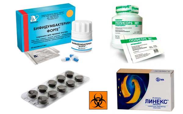 Использование сорбентов при дерматите