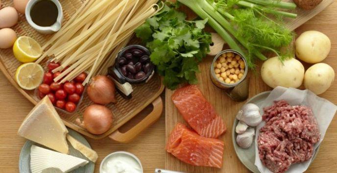 Правильное питание, рацион, продукты