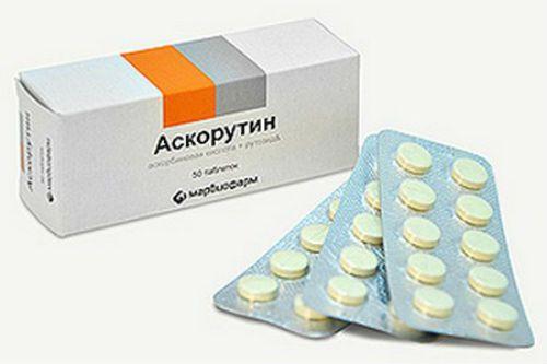 Аскорутин, инструкция по применению, цена, отзывы, аналоги