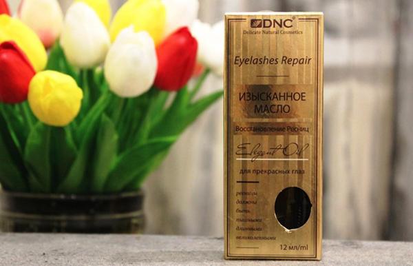 Изысканное масло DNC для бровей и ресниц