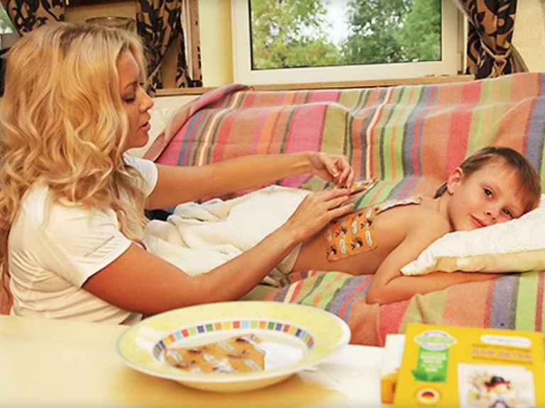 Как ставить горчичники при кашле детям или взрослому