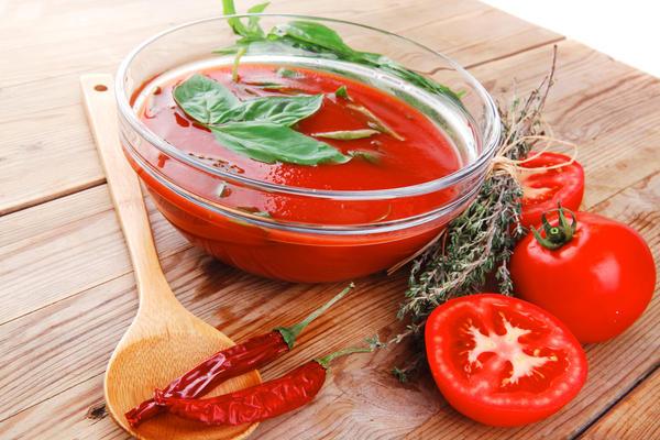Томатный суп с Чили
