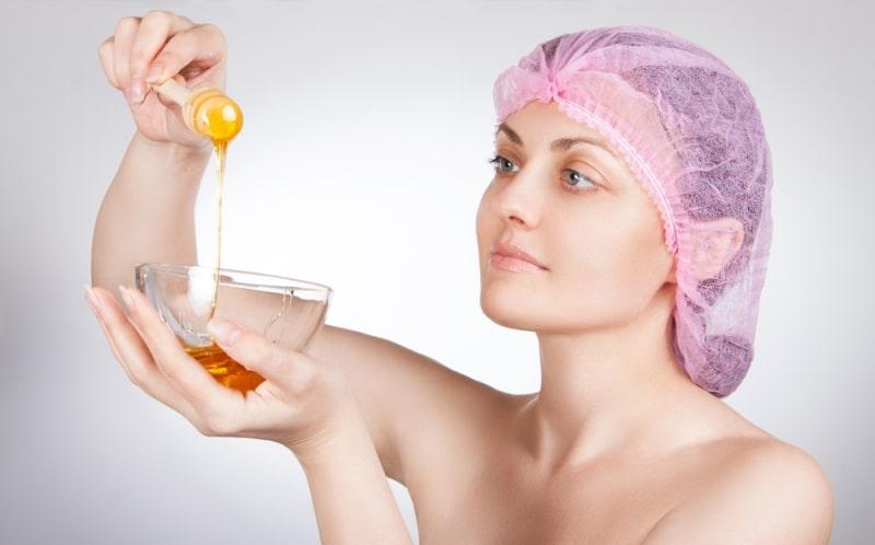Приготовление маски с медом