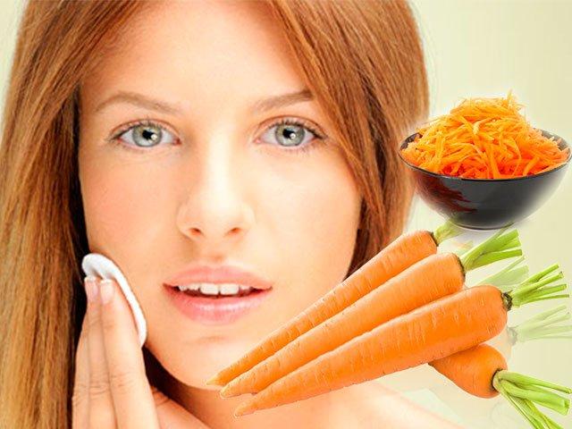 Морковное средство против прыщей