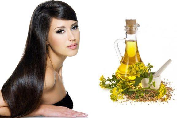 Касторовое масло для темных волос