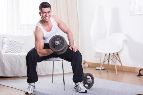 Мужчина и спорт