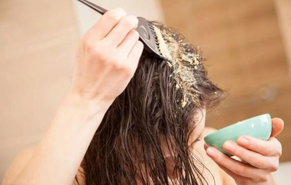 Касторовая маска для волос с дрожжами